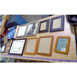LOT OF PICTURE FRAMES COMES WITH SUDUKO BOARD