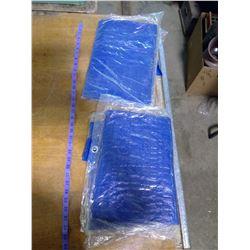 2 BLUE TARPS