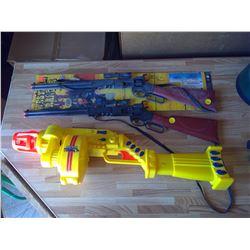 3 Toy Guns