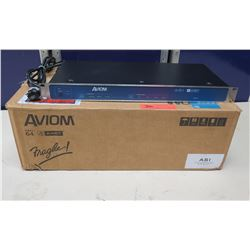 AVIOM ASI Pro 16/64 A-Net Systems Interface 100-240 VAC, 50-60Hz in Box w/ Cords