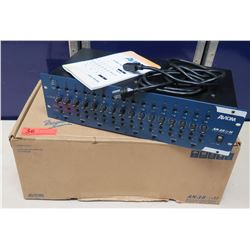 AVIOM AN-16/i-M A-Net 16 Channel Mic & Line Level Input Module in Box w/ Cords