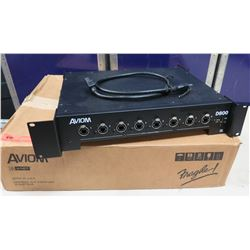 AVIOM D800 A-Net Pro 16 Distributor Mixer in Box w/ Cords