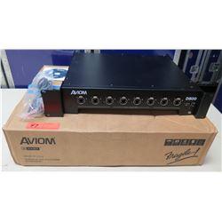 AVIOM D800 A-Net Pro 16 Distributor Mixer in Box w/ Cords & User Guide CD