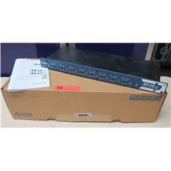 AVIOM AN-16/o 16 Channel Line Level Analog Output Module in Box w/ Manual