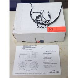 Countryman Associates Adjusting Isomax Headset w/ Microphone Boom, in Box w/ Manual