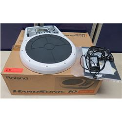 Roland HandSonic 10 Hand  Percussion Pad in Box w/ Cords & Manual