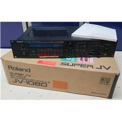 Roland Super JV 64 Expanded Voice Synthesizer Module JV-1080 in Box w/ Manual