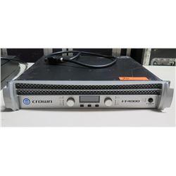 Crown I-Tech I-T4000 Power 2 Channel Amplifier w/ Cord