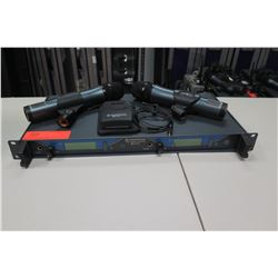 Sennheiser EW550 G2 Set with 2 Handheld Mics & 1 Belt Pack