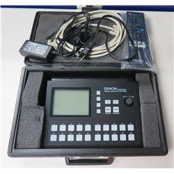 Denon Professional Remote Controller RC-F400S w/ Cords in Hard Case