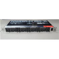 PowerPlay Pro-XL 4-Channel Headphones Distribution Amplifier Model HA4700