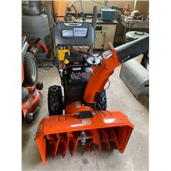 Husquavarna snowblower, electric start, 3 years old, 27 inch cut, only used a handful of times