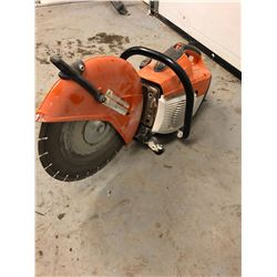 Stihl TS500i Diamond blade saw and brand new cut off blade