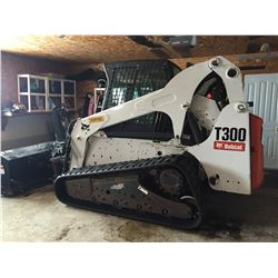 2009 Bobcat T300 Skid Steer, 3120 hours