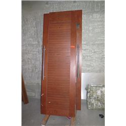 Large Wooden Doors (Some Surface Damage)