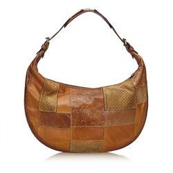 Dior Patchwork Leather Shoulder Bag