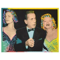 "Marilyn, Bogart, and Bacall by ""Ringo"" Daniel Funes"