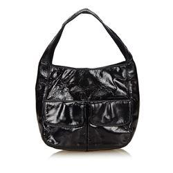 Prada Small Patent Leather Handbag