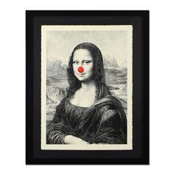 Mona Keep Smiling by Mr Brainwash