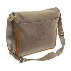 Louis Vuitton Brown Damier Geant Canvas Leather Messenger Bag