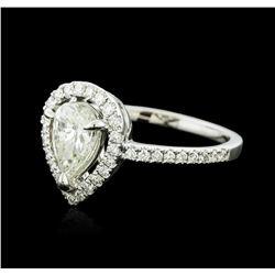 18KT White Gold 1.06 ctw Diamond Ring