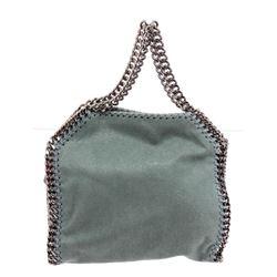 Stella McCartney Green Shaggy Deer Falabella Tote Bag