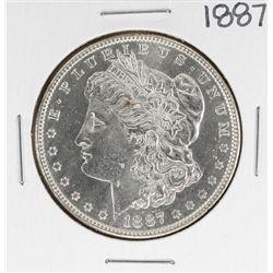 1887 $1 Morgan Silver Dollar Coin