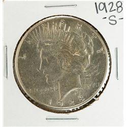 1928-S $1 Peace Silver Dollar Coin