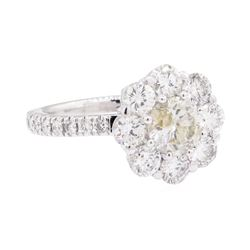 18KT White Gold 2.75 ctw Diamond Wedding Ring
