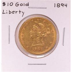 1894 $10 Liberty Head Eagle Gold Coin