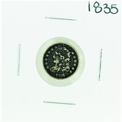 1835 Capped Bust Half Dime Coin