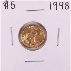 1998 $5 American Gold Eagle Coin