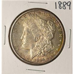 1889 $1 Morgan Silver Dollar Coin Nice Toning