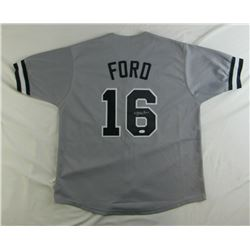 Whitey Ford Signed Jersey (JSA COA)