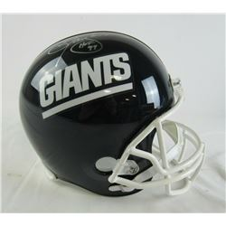 Lawrence Taylor Signed Giants Mini Helmet (JSA COA)
