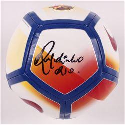 Cristiano Ronaldo Autographed Nike Pitch Soccer Ball (Beckett COA)