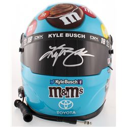 Kyle Busch Signed NASCAR M& M Hazelnut Spread Full-Size Helmet (PA COA)