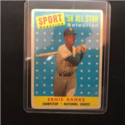 1958 Topps #482 Ernie Banks ALL-STAR