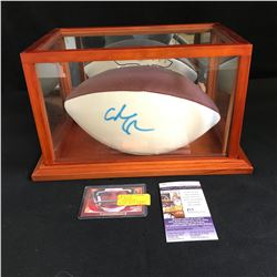 ADAM SANDLER WATERBOY SIGNED FOOTBALL (JSA COA) WITH DELUXE CASE