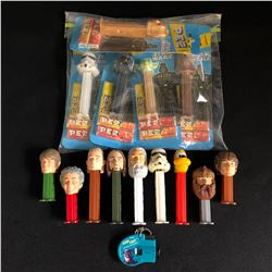 COLLECTIBLE STAR WARS PEZ DISPENSER LOT
