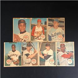 1967-68 OPC MLB BASEBALL POSTER LOT