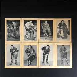 1940-60s BEEHIVE HOCKEY PICS LOT