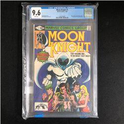 MOON KNIGHT #1 (MARVEL COMICS) 1980 -CGC GRADED 9.6-