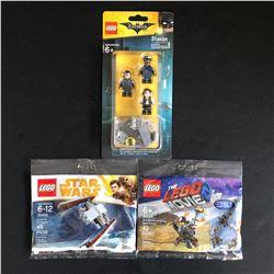 LEGO MINIFIGURES LOT (BATMAN, STAR WARS, LEGO MOVIE 2)