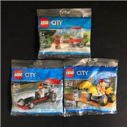 LEGO CITY POLYBAG LOT