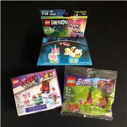 LEGO MINIFIGURES LOT (DIMENSIONS, LEGO MOVIE 2, FRIENDS)