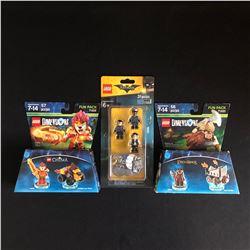LEGO MINIFIGURES LOT (LOTR, BATMAN...)