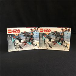 LEGO STAR WARS BUILDING TOY LOT
