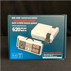 MINI GAME ANNIVERSARY EDITION ENTERTAINMENT SYSTEM (Built-In 620 Classic Games)