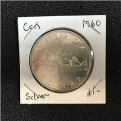 1960 CANADA SILVER DOLLAR
